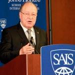 Ce que Mustapha Ben Jaafer a dit lors de sa conférence à l'Université Johns Hopkins