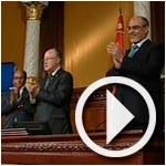 En vidéo : Ben Jaafer regrette l'absence des députés de l'opposition