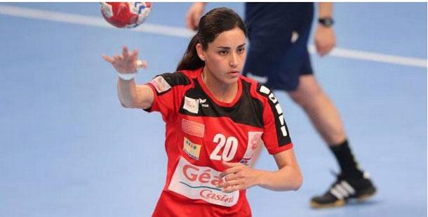 La Tunisienne Mouna Chabbeh, meilleure joueuse du championnat français de handball