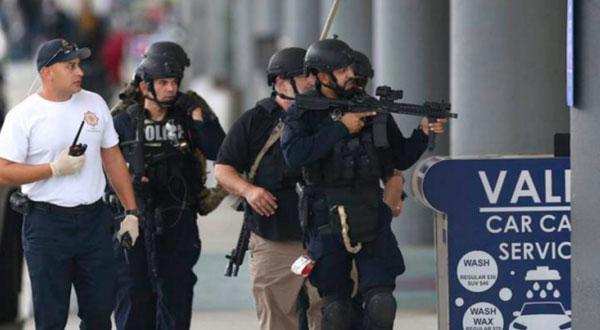 طعن شرطي أمريكي في مطار ميشيغان