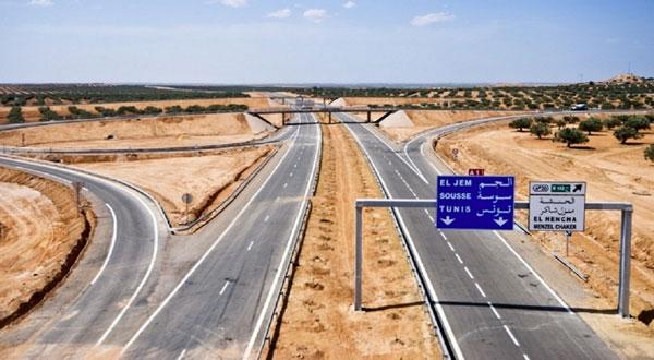 استئناف أشغال القسط الرابع من الطريق السيارة قابس - مدنين بداية السنة القادمة