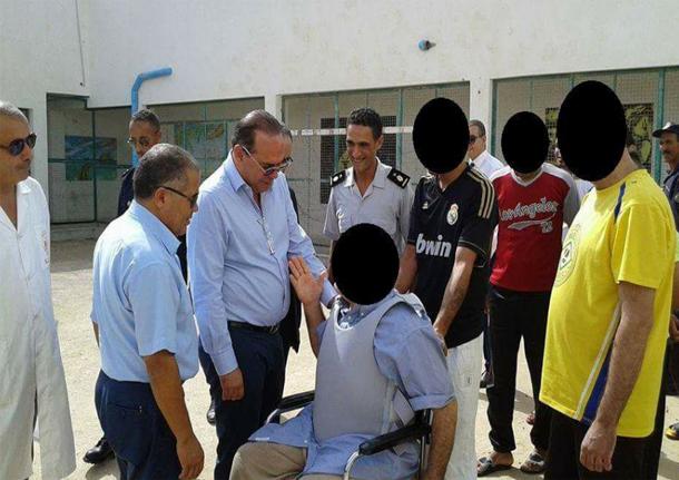مهدي بن غربية يزور السجن المدني برج الرومي ببنزرت