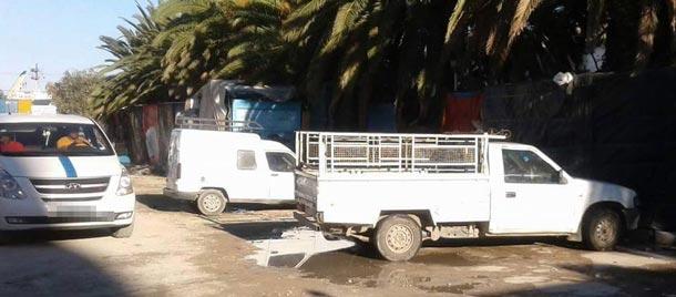 En photos : la station des louages à Bizerte dans un état lamentable