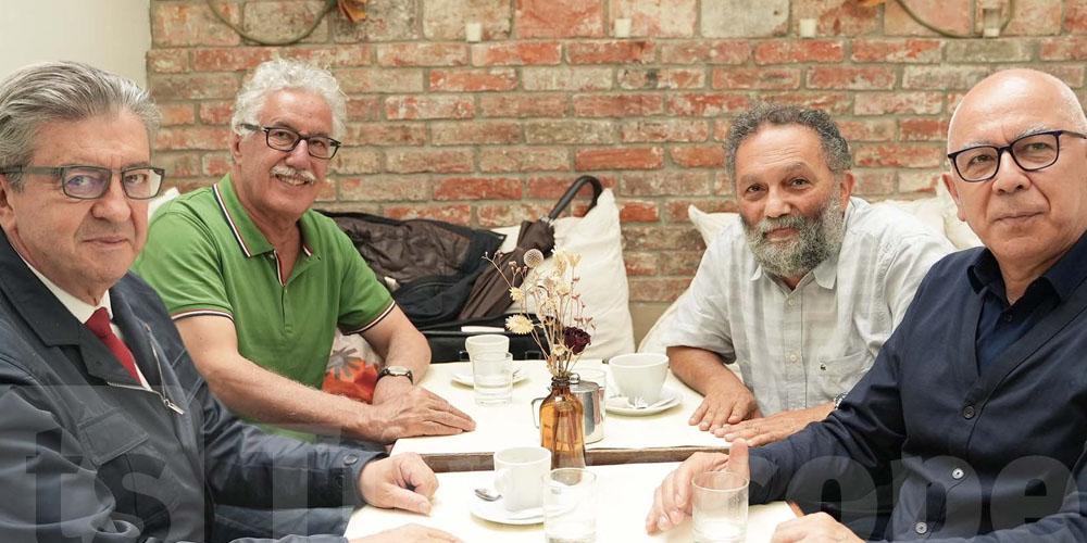 Rencontre Hamma Hammami et Jean Luc Mélenchon