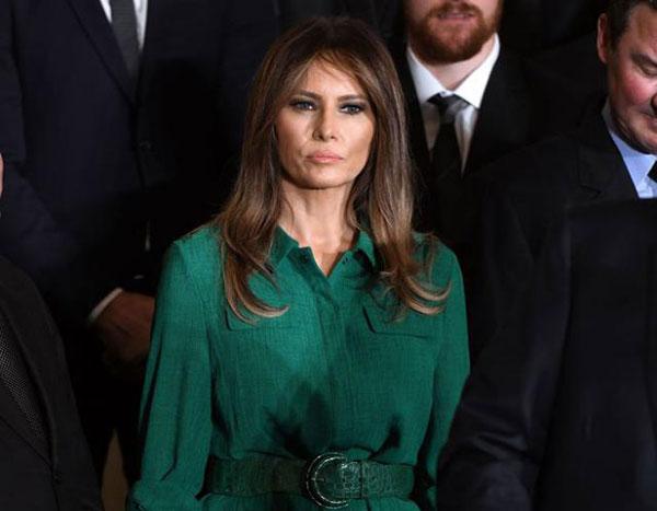 Après le plagiat, Melania Trump copie le modèle de la robe d'une autre première dame