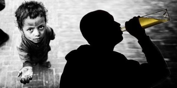 Arrestation d'un ivrogne qui faisait travailler ses enfants comme mendiants
