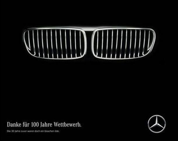 En vidéo : Quand Mercedes-Benz souhaite un joyeux anniversaire à son concurrent BMW...