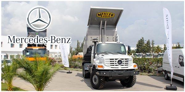 En vidéo : Découvrez le nouveau camion Zetros 6x6 de Mercedes