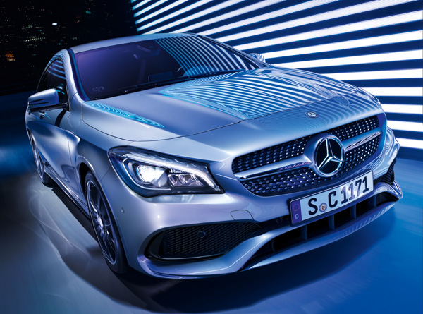 La nouvelle Mercedes-Benz CLA : Un design au goût du jour