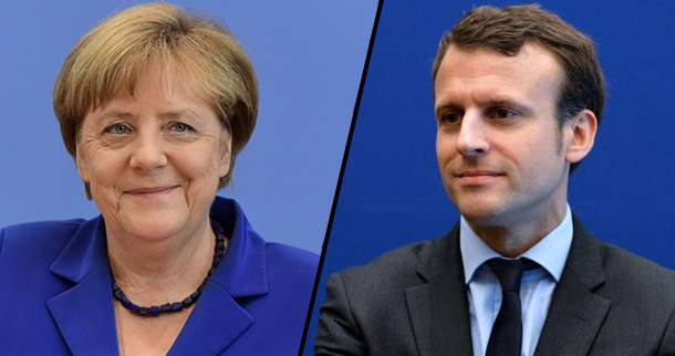 Angela Merkel 'très heureuse' de la victoire d'Emmanuel Macron