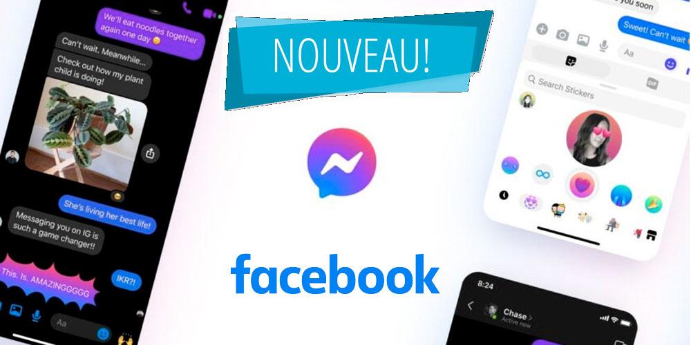 Facebook annonce un changement pour Messenger
