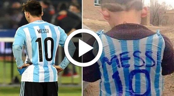 En vidéo : L'enfant afghan qui avait ému Internet a finalement rencontré Messi