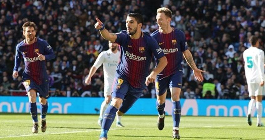 برشلونة يكافئ ميسي وسواريز