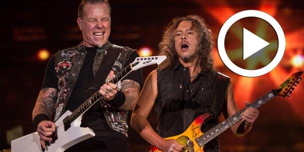 Vidéo...Metallica annonce la sortie d'un nouvel album : Découvrez la première chanson 'Hardwired'