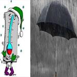 طقس اليوم: سحب كثيفة مع أمطار ورياح قوية والحرارة بين 8 و17 درجة