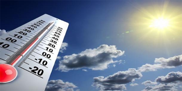 Températures en légère baisse à partir de dimanche