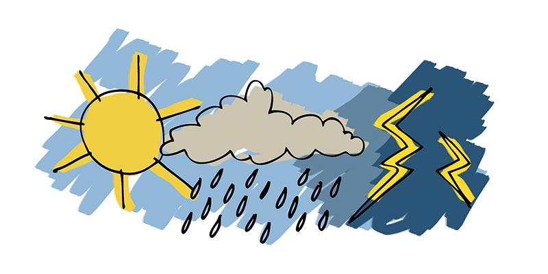 Bulletin météo pour ce week-end