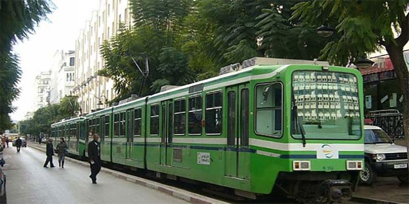 جولان المترو رقم 2 على سكة واحدة بين محطتي الجمهورية وحي الخضراء الى الاثنين القادم