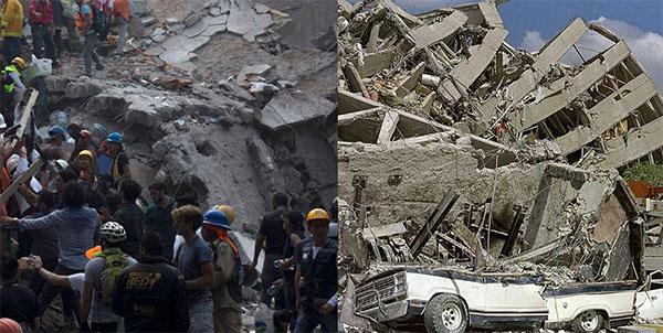 مصادفة ''غير معقولة'' عمرها 32 عاما بزلزال المكسيك