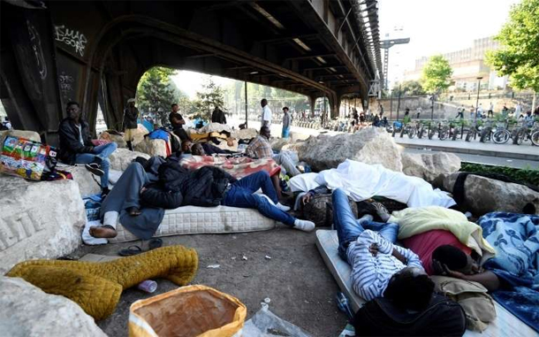 Plus de 2.000 migrants évacués de campements dans le nord de Paris