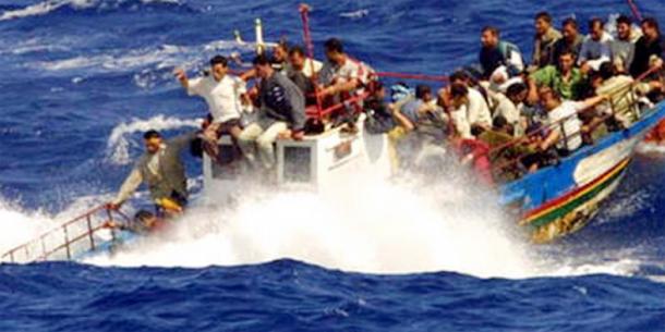 Nouvel afflux massif de migrants cette semaine en Méditerranée