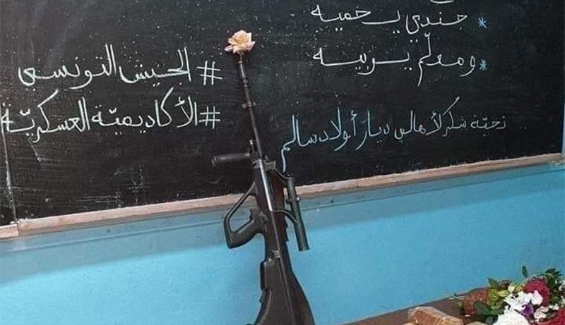 بالصور: بعد الانتخابات.. رسائل الجيش الوطني بمناسبة العودة المدرسية