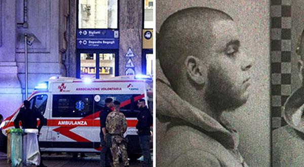 شرطة ميلانو: المعتدي على العسكريين بالسكين تونسي وليس مغربي