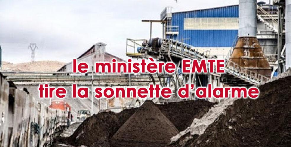 Situation intenable pour la Compagnie des phosphates de Gafsa
