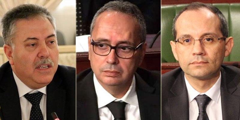 Séance d'audition à huis clos des ministres de l'Intérieur, de la Défense et des Affaires Etrangères