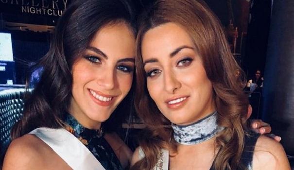 Miss Irak avec Miss Israël ou la photo qui a soulevé un tollé