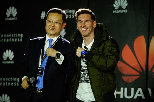 Lionel Messi joint la famille des Ambassadeurs de la marque mondiale Huawei