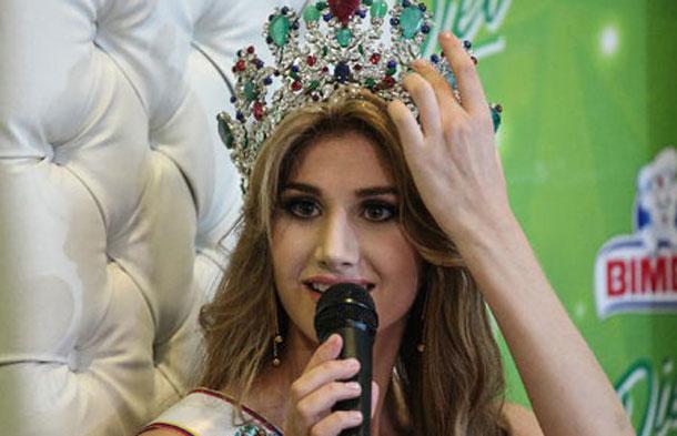 La syrienne Mariam Habach, Miss Venezuela 2015