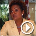 En Vidéo : Mme Michaëlle Jean s'exprime sur sa candidature pour le Secrétariat général de la Francophonie