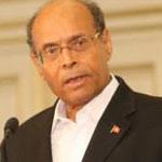 M. Marzouki fait la promotion de son parti, en Algérie