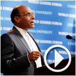 En Vidéo- Marzouki à l'Université de Columbia : ce qui se passe dans le monde arabe est une crise de l'islam