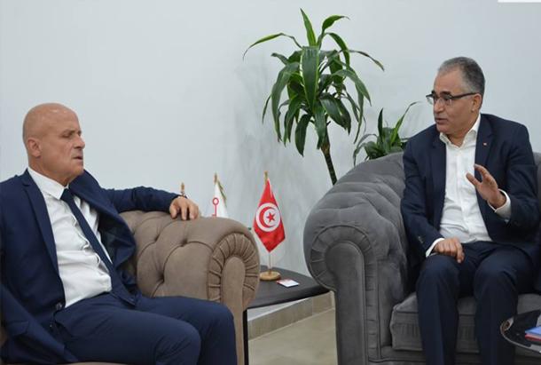 هذا ما جاء في لقاء محسن مرزوق بسفير فرنسا بتونس