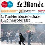 Le Monde titre : La Tunisie redoute le chaos au sommet de l'État