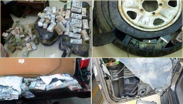 صفاقس: إيقاف شاحنة محملة بمبالغ ضخمة من العملة الصعبة