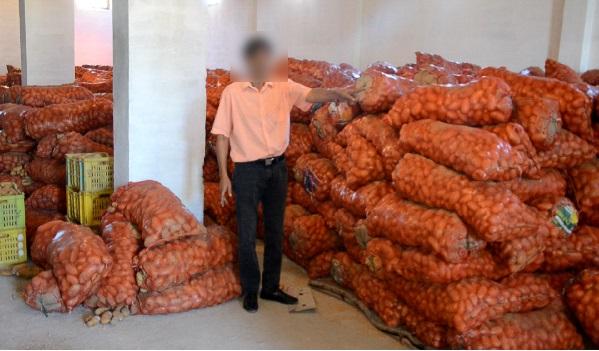 Spéculation - Saisie de 170 tonnes de pommes de terre à Nabeul
