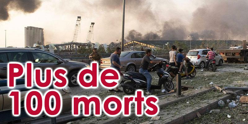 Le bilan de l'explosion à Beyrouth dépasse 100 morts