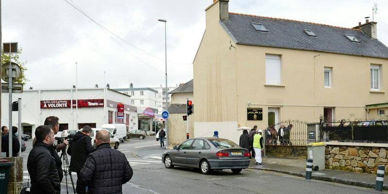 France : Deux blessés après des coups de feu devant une mosquée à Brest