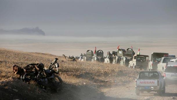 L'opération pour reprendre Mossoul : Tous les détails