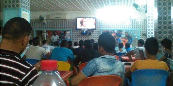 Photo du jour : Quand ''Ouled Moufida'' devient plus populaire que la finale de la Coupe du monde