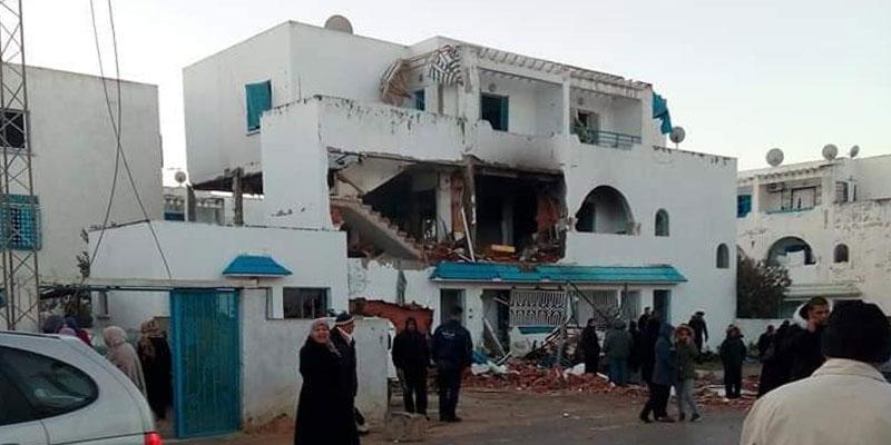 En photos : Un incendie ravage une maison à El Mourouj
