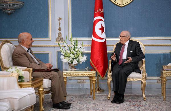 ماذا في لقاء رئيس الجمهورية برئيس الرابطة التونسية للدفاع على حقوق الإنسان؟