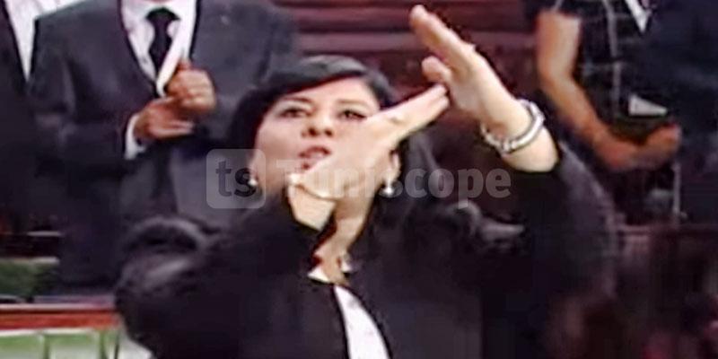 Ignorée par Ghannouchi, Abir Moussi n'a pas prêté serment