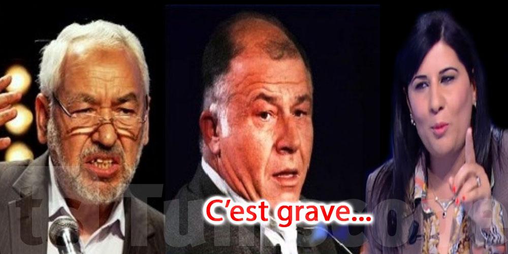 Neji Jalloul : Rached Ghannouchi a demandé l'aide des américains pour vaincre Abir Moussi