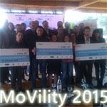 Concours Movility 2015 : Trois projets primés