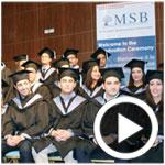 En vidéos : Cérémonie de remise des diplômes des lauréats du master MBM de la MSB