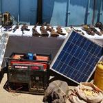 Armes de guerre, explosifs et TNT découverts par l'armée algérienne